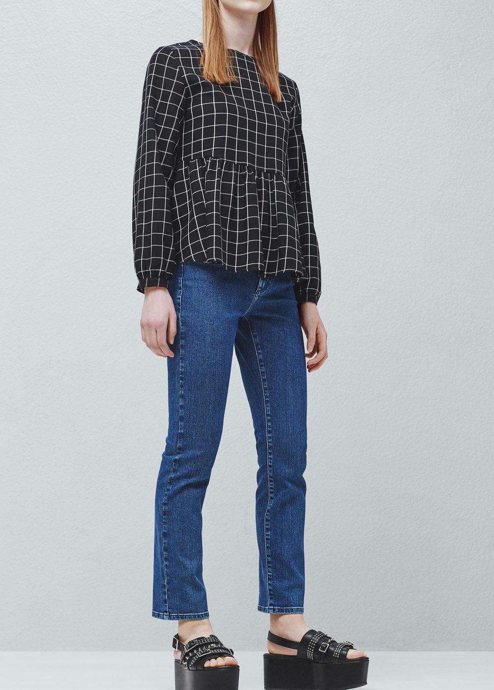 humanlike Jeans high waist Alexa by Mango