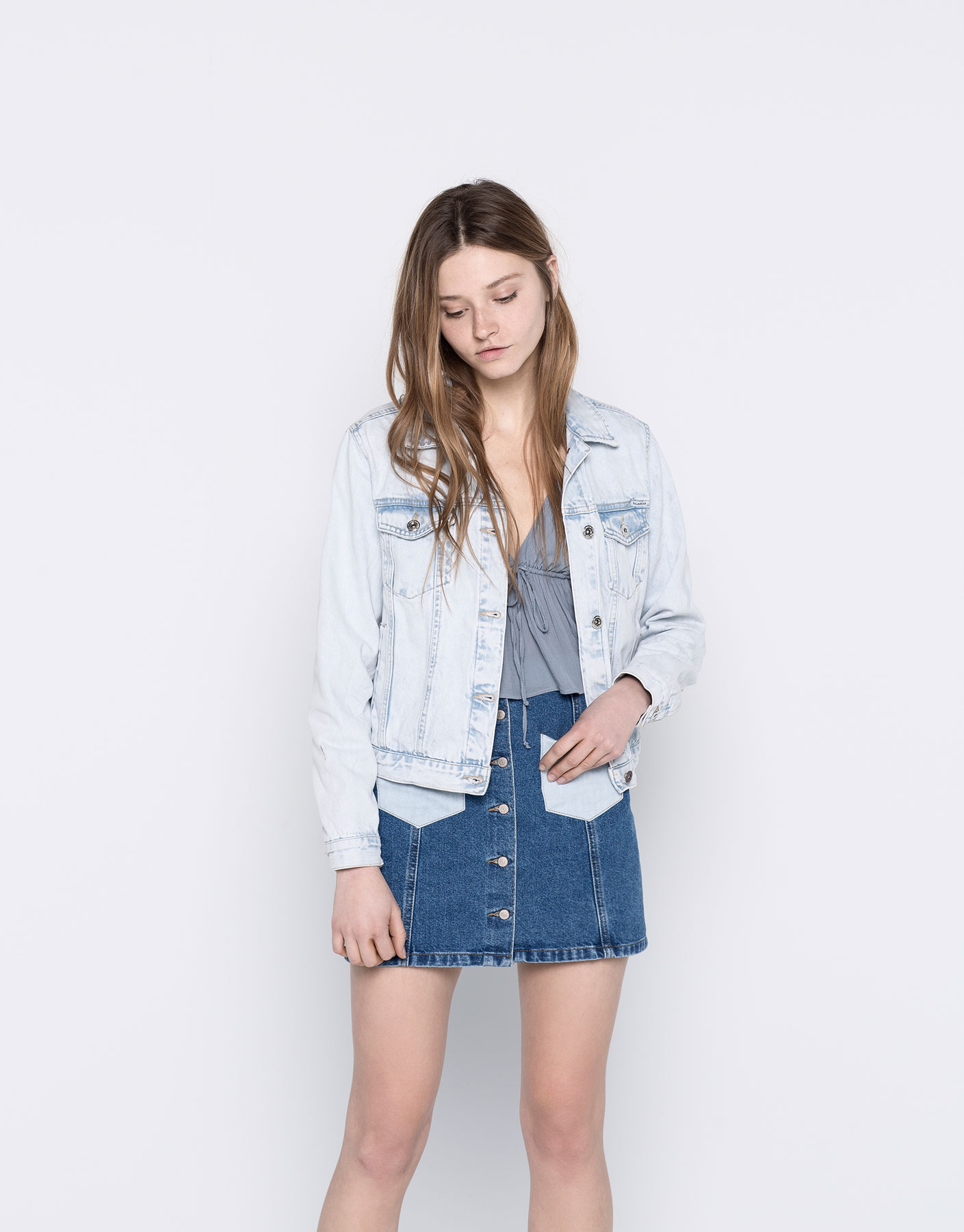 humanlike.co DENIM JACKET by Pull&Bear