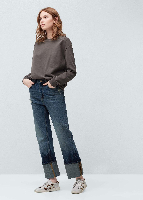 humanlike.co Kate high waist Boyfriend jeans by Mango